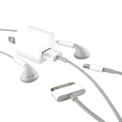 Apple iPhone Charge Kit Skin - Solid State White