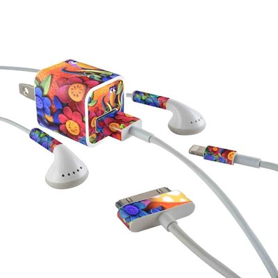 Apple iPhone Charge Kit Skin - Summerbird