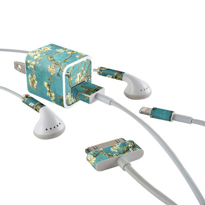 Apple iPhone Charge Kit Skin - Blossoming Almond Tree