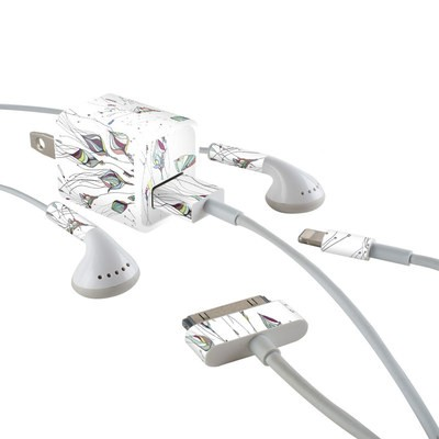 Apple iPhone Charge Kit Skin - Wildflowers