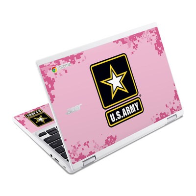 Acer Chromebook R11 Skin - Army Pink