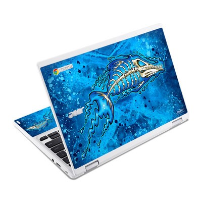 Acer Chromebook R11 Skin - Barracuda Bones