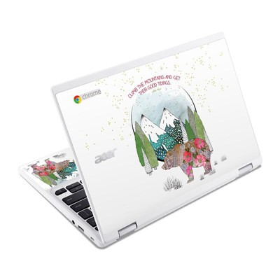 Acer Chromebook R11 Skin - Bear Mountain