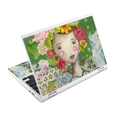 Acer Chromebook R11 Skin - Be Glad