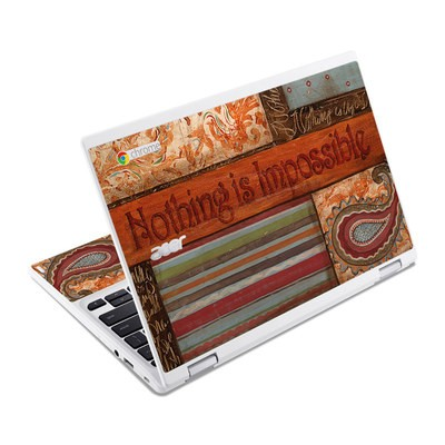 Acer Chromebook R11 Skin - Be Inspired