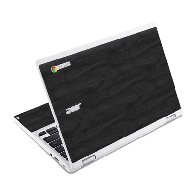 Acer Chromebook R11 Skin - Black Woodgrain