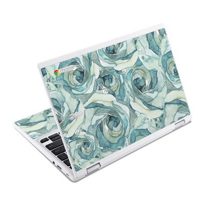 Acer Chromebook R11 Skin - Bloom Beautiful Rose