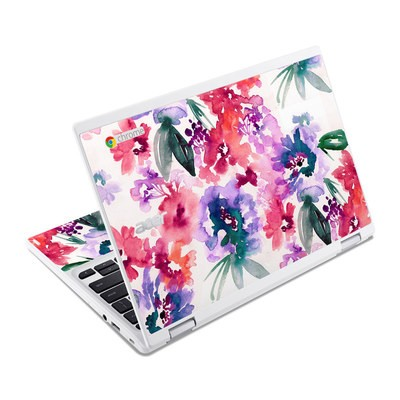 Acer Chromebook R11 Skin - Blurred Flowers