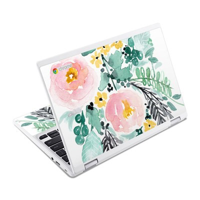 Acer Chromebook R11 Skin - Blushed Flowers