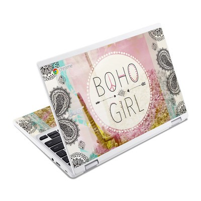 Acer Chromebook R11 Skin - Boho Girl