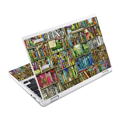 Acer Chromebook R11 Skin - Bookshelf