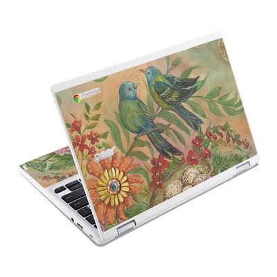 Acer Chromebook R11 Skin - Splendid Botanical