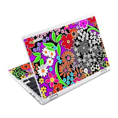 Acer Chromebook R11 Skin - A Burst of Color