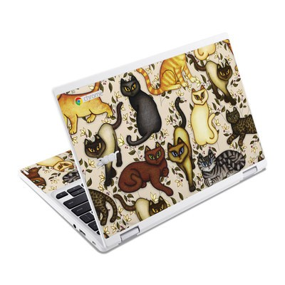 Acer Chromebook R11 Skin - Cats