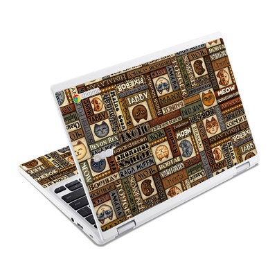 Acer Chromebook R11 Skin - Cat Breeds