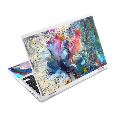 Acer Chromebook R11 Skin - Cosmic Flower