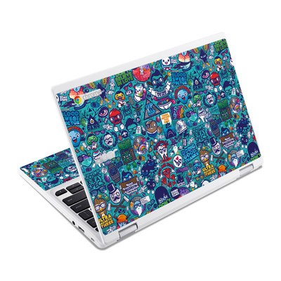 Acer Chromebook R11 Skin - Cosmic Ray