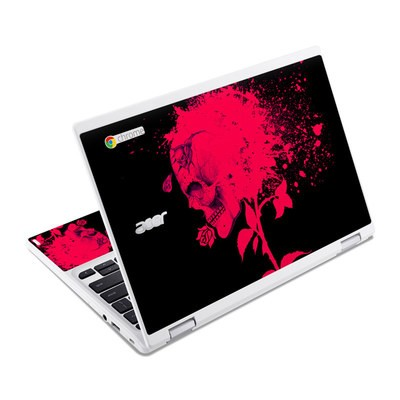 Acer Chromebook R11 Skin - Dead Rose