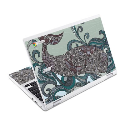 Acer Chromebook R11 Skin - Deep Blue Me