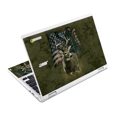 Acer Chromebook R11 Skin - Deer Flag