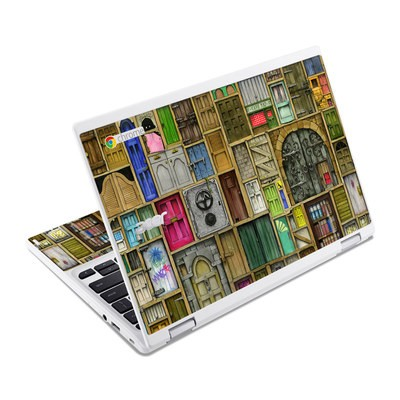 Acer Chromebook R11 Skin - Doors Closed