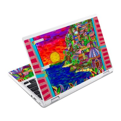 Acer Chromebook R11 Skin - Dreaming In Italian