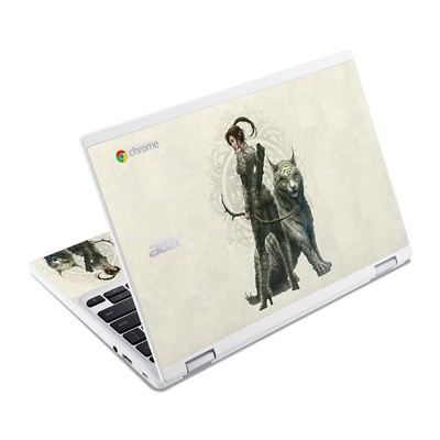Acer Chromebook R11 Skin - Half Elf Girl
