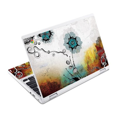 Acer Chromebook R11 Skin - Frozen Dreams
