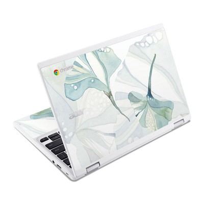 Acer Chromebook R11 Skin - Floating Gingko