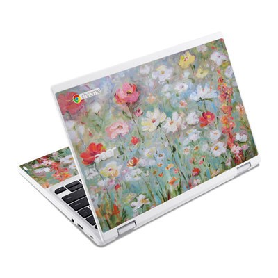 Acer Chromebook R11 Skin - Flower Blooms
