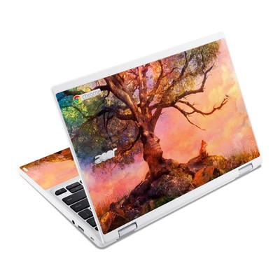 Acer Chromebook R11 Skin - Fox Sunset