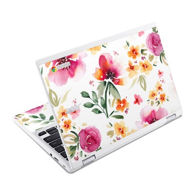 Acer Chromebook R11 Skin - Fresh Flowers
