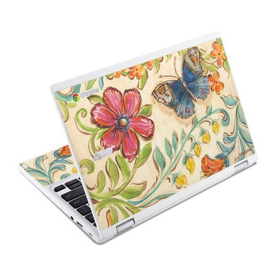 Acer Chromebook R11 Skin - Garden Scroll
