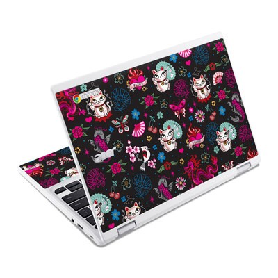 Acer Chromebook R11 Skin - Geisha Kitty