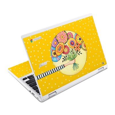 Acer Chromebook R11 Skin - Giving