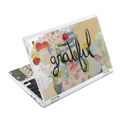 Acer Chromebook R11 Skin - Grateful
