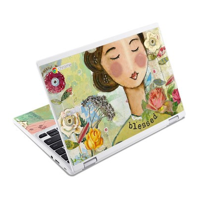 Acer Chromebook R11 Skin - Grateful Soul