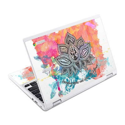 Acer Chromebook R11 Skin - Happy Lotus
