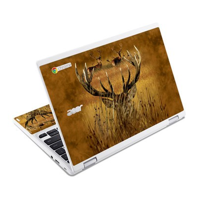Acer Chromebook R11 Skin - Hiding Buck