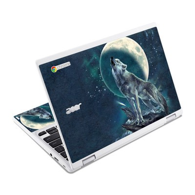 Acer Chromebook R11 Skin - Howling Moon Soloist