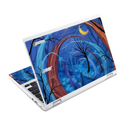 Acer Chromebook R11 Skin - Ichabods Forest
