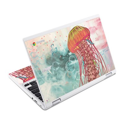 Acer Chromebook R11 Skin - Jellyfish
