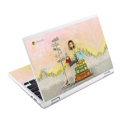Acer Chromebook R11 Skin - The Jet Setter