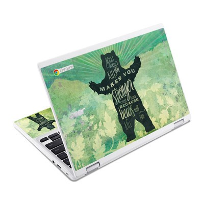 Acer Chromebook R11 Skin - What Doesnt Kill You