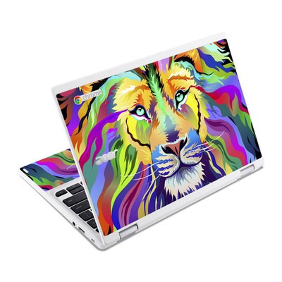 Acer Chromebook R11 Skin - King of Technicolor