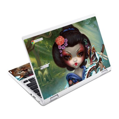 Acer Chromebook R11 Skin - Kirin and Bakeneko