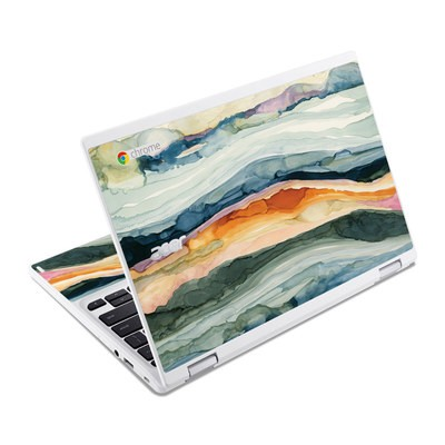 Acer Chromebook R11 Skin - Layered Earth