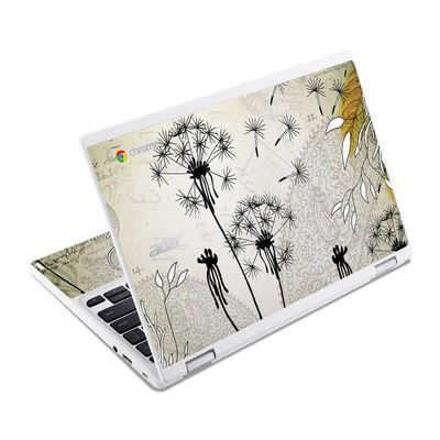 Acer Chromebook R11 Skin - Little Dandelion