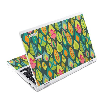 Acer Chromebook R11 Skin - Little Leaves