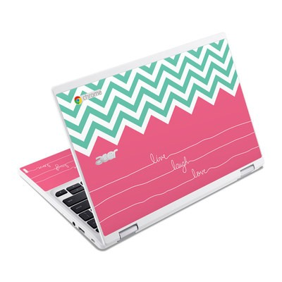 Acer Chromebook R11 Skin - Live Laugh Love